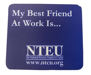 "Picture of ""My Best Friend At Work Is..."" NTEU Mousepad"
